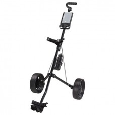 "NEW ""GLIDE EASY FOLD"" GOLF PULL CART w/SCORE PAD & WATER BOTTLE"