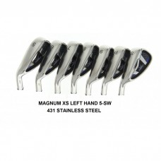 AGXGOLF MAGNUM TOUR XS IRON HEADS: SET TOTAL OF SEVEN HEADS 5-SW STAINLESS STEEL .370 HOSEL.  AVAILABLE IN LEFT HAND & RIGHT HAND!