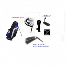 "AGXGOLF LEADERBOARD SENIOR FLEX EDITION"" FULL GOLF CLUB SET: FREE PUTTER! MEN'S RIGHT HAND"