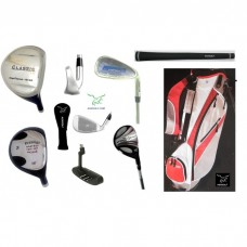 AGXGOLF PRESTIGE MEN'S SENIOR EDITION COMPLETE GOLF CLUB SET w/STAND BAG & PUTTER: BUILT in the USA!