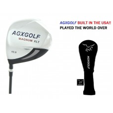 MEN'S AGXGOLF XLT EDITION 10.5 DEGREE 460cc FORGED 7075 OVERSIZED DRIVER: GRAPHITE w/HEAD COVER; LEFT HAND