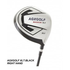 AGXGOLF MEN'S MAGNUM XLT EDITION 460cc OVER SIZED FORGED HEAD  DRIVER w/GRAPHITE SHAFT + HEAD COVER