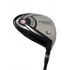 AGXGOLF MEN'S MAGNUM XLTi EDITION RIGHT HAND 460cc OVER SIZED FORGED HEAD TITANIUM DRIVER w/GRAPHITE SHAFT + HEAD COVER