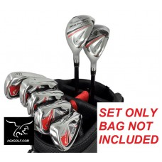 ORLIMAR FIRELINE SENIOR GRAPHITE IRONS SET w/#4 & #5+HYBRIDS + 6, 7, 8, 9 PITCHING WEDGE