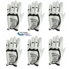 6 Pack Of The Talon Cabretta Leather Golf Gloves: For Ladies Who Golf Right Handed (Glove Fits On The Left Hand)