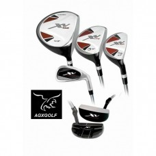 BOYS LEFT HAND XV GOLF CLUB SET w/460cc DRIVER & FREE PUTTER: TEEN OR TWEEN LENGTH
