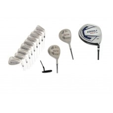 AGXGOLF MDD TOUR MEN'S GOLF SET w460 DRIVER + 3 WOOD, & 7 UTILITY WOOD + 3-9 IRONS + PW & SW FREE PUTTER: CHOOSE LENGTH & FLEX