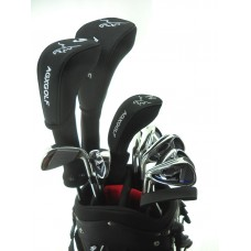 Men's Left Hand Magnum XS Edition 13 Club Golf Set w460 Driver, 3 & 5 Wood , #3 & 4 Hybrids + 5-9 Irons + PW & SW + Putter: Option to Include Stand Bag