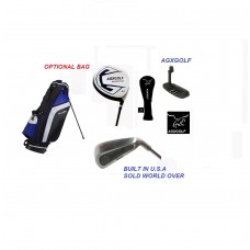 "AGXGOLF LEADERBOARD  EDITION"": FULL GOLF CLUB SET: FREE PUTTER! MEN'S RIGHT HAND SENIOR, REGULAR or STIFF FLEX"