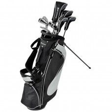 SENIOR ORLIMAR SPECTRUM GRAPHITE GOLF SET: TITANIUM DRIVER+HYBRIDS+BAG+PUTTER