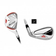 """ORLIMAR """"VT SPORT NEW SPECIAL EDITION: IRONS SET WITH #4 & #5 HYBRIDS, MEN'S LEFT HAND ALL LENGTHS; FEATURES GRAPHITE SHAFTS ON HYBRIDS AND STAINLESS STEEL SHAFTS ON 6-PW IRONS"""