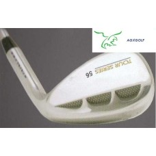 AGXGOLF TOUR SERIES 52, 56 & 60  DEGREE SAND & LOB WEDGES for LADIES; LEFT or RIGHT HAND wOPTION TO UPGRADE TO GRAPHITE SHAFT