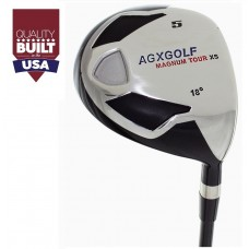 AGXGOLF LADIES  #5 FAIRWAY WOOD 18 DEGREE w/GRAPHITE SHAFT: LEFT or RIGHT HAND: CHOOSE LENGTH + HEAD COVER