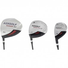 BOYS MAGNUM XLT 3 PIECE WOODS SET: DRIVER, 3 WOOD & 3 HYBRID IRON. LEFT HAND, AVAILABLE IN TALL, TEEN, & TWEEN LENGTHS.