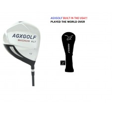 SENIOR EDITION 12.0 DEGREE 460cc FORGED 7075 OVERSIZED DRIVER: GRAPHITE w/HEAD COVER; RIGHT HAND