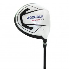 AGXGOLF MEN'S EDITION XLT 12 DEGREE 460cc FORGED 7075 OVERSIZED DRIVER: GRAPHITE w/HEAD COVER