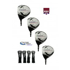 MEN'S RIGHT HAND MAGNUM XS EDITION FAIRWAY WOODS SET: #3, 5, 7 & 9 LEFT or RIGHT HAND