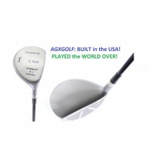 MEN'S TL-PLUS 13 DEGREE UTILITY WOOD w/GRAPHITE SHAFT & HEAD COVER ALL LENGTHS RIGHT HAND: BUILT in the USA!